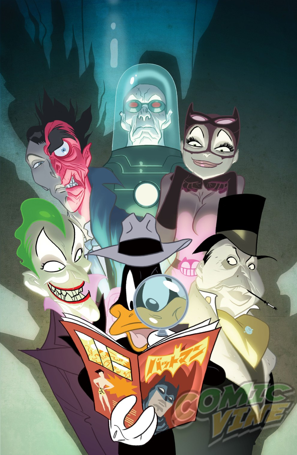 Detective Comics #46 by Ben Caldwell and Warner Bros. Animation