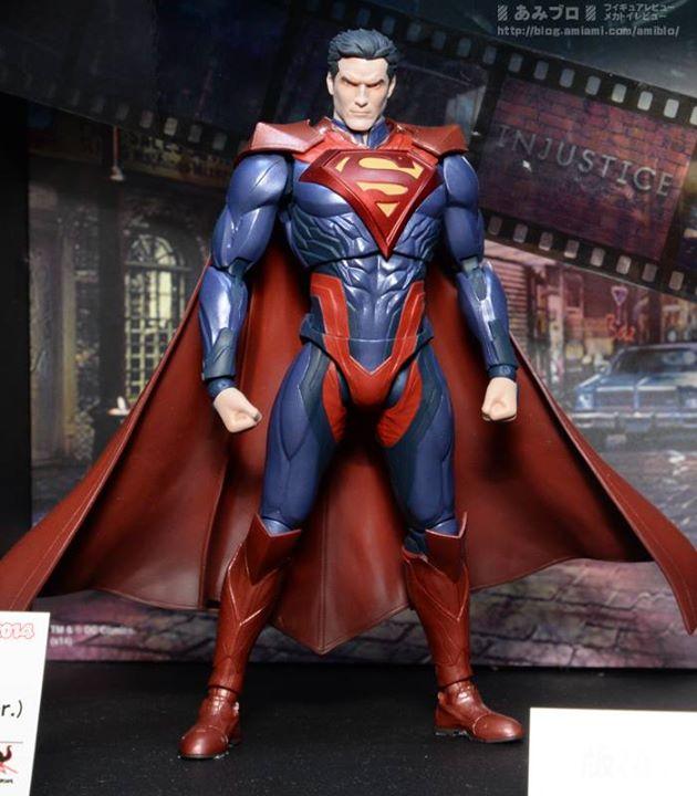 SUPERMAN INJUSTICE GODS AMONG US S.H. FIGUARTS AF $54.99