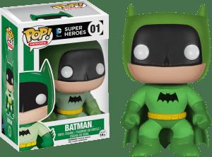 pop rainbow batman green vinyl