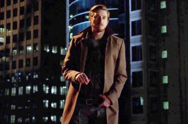 """Arthur Darrell as time-traveler Rip Hunter in the midseason premiere of """"DC's Legends of Tomorrow""""."""