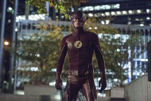 """The Flash -- """"The Fury of Firestorm"""" -- FLA204A_0170b -- Pictured: Grant Gustin as The Flash -- Photo: Cate Cameron /The CW -- © 2015 The CW Network, LLC. All rights reserved."""