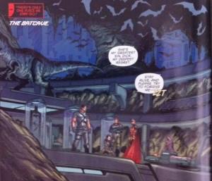 Batman and Robin Eternal 3 Batcave