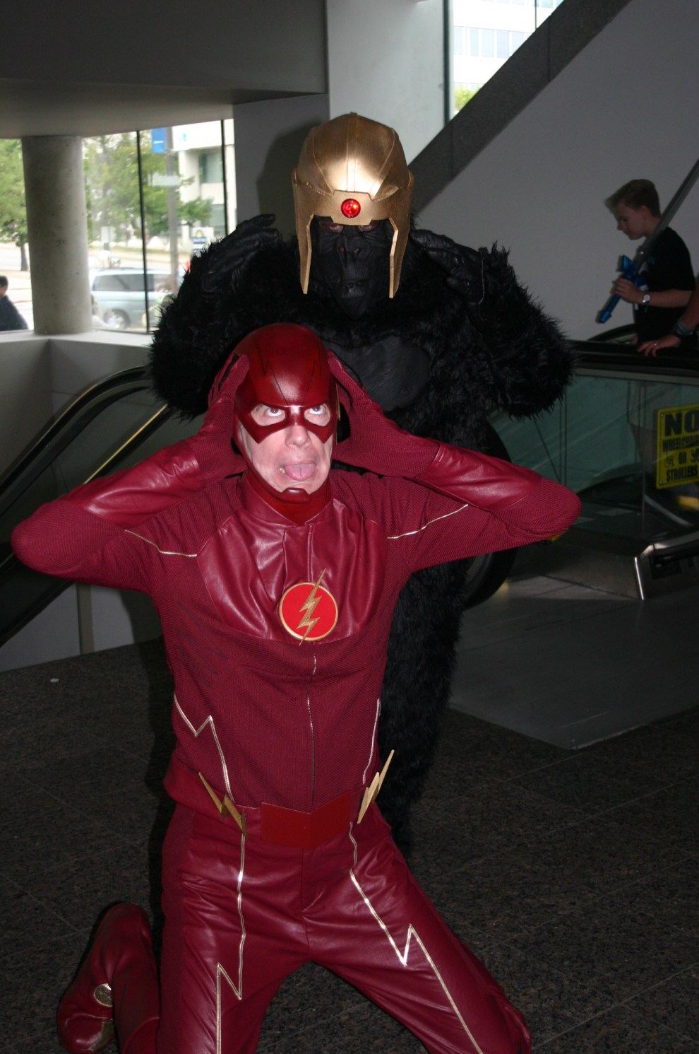 Grood takes down The Flash