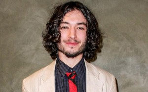 ezra miller as Barry Allen the flash