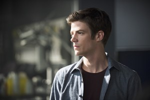 """The Flash -- """"The Man Who Saved Central City"""" -- Image FLA201b_0205b.jpg -- Pictured: Grant Gustin as Barry Allen -- Photo: Cate Cameron /The CW -- © 2015 The CW Network, LLC. All rights reserved."""