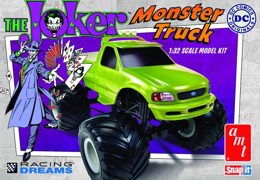 Joker Monster Truck