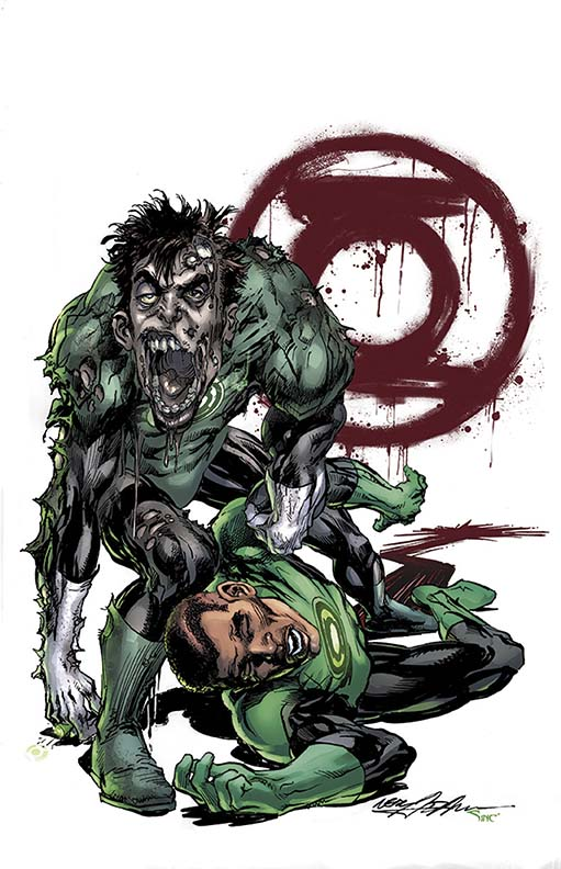 Green Lantern #45 Monster variant