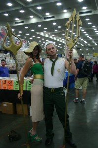Bombshell Mera and Aquaman
