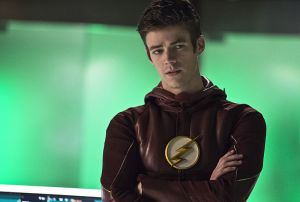 "The Flash -- ""Legends of Today"" -- Image FLA208B_0113b.jpg -- Pictured: Grant Gustin as Barry Allen -- Photo: Cate Cameron/The CW -- © 2015 The CW Network, LLC. All rights reserved"
