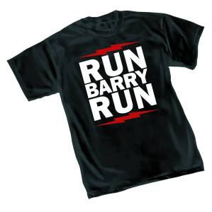 FLASH RUN BARRY RUN T/S SM $18.95