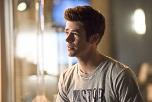 "The Flash -- ""Gorilla Warfare"" -- Image FLA207B_0037b.jpg -- Pictured: Grant Gustin as Barry Allen -- Photo: Cate Cameron/The CW -- © 2015 The CW Network, LLC. All rights reserved."