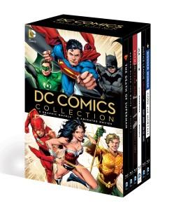 DC COMICS BOOK AND DVD BLU RAY SLIPCASE SET