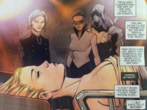Batman and Robin Eternal 6 Mother with Alicia