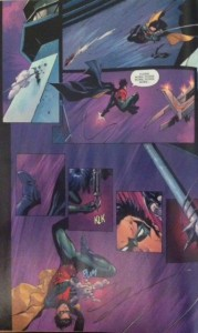 Batman and Robin Eternal 6 Dick Acrobatic