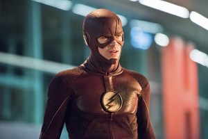 """The Flash -- """"Enter Zoom"""" -- Image FLA206A_0234b.jpg -- Pictured: Grant Gustin as The Flash  -- Photo: Dean Buscher/The CW -- © 2015 The CW Network, LLC. All rights reserved."""