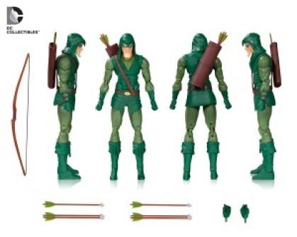 green arrow action