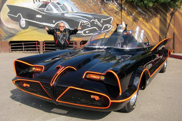 Barris and the #1 Batmobile