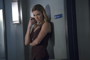 """Arrow -- """"Haunted"""" -- Image AR404A_0121b.jpg -- Pictured: Katie Cassidy as Laurel Lance -- Photo: Katie Yu/ The CW -- © 2015 The CW Network, LLC. All Rights Reserved."""