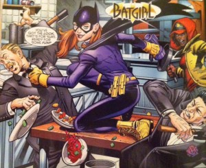 Batman and Robin Eternal 4 Batgirl