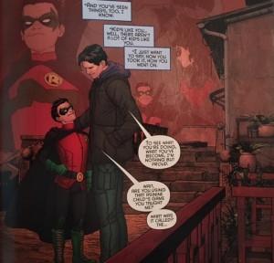 We Are Robin 7 Dick Damian Code Teaching