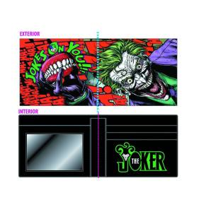 JOKER DYE SUB SCREEN PRINT BIFOLD WALLET