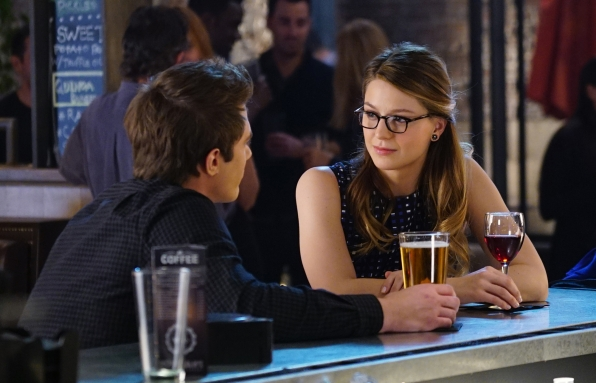 Kara spends time with Cat Grant's son, Adam (Blake Jenner)