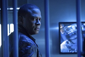 """Arrow -- """"A.W.O.L."""" -- Image AR411b_0076b.jpg -- Pictured: David Ramsey as John Diggle  -- Photo: Liane Hentscher/ The CW -- © 2016 The CW Network, LLC. All Rights Reserved."""