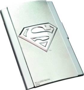 DC SUPERMAN LOGO BUSINESS CARD CASE