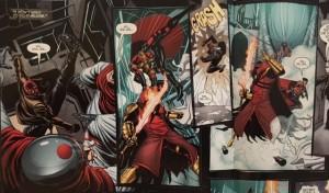 Batman and Robin Eternal 15 Fight