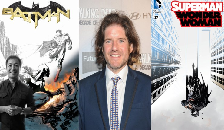 March Variant Batman Superman Wonder woman dc comics news