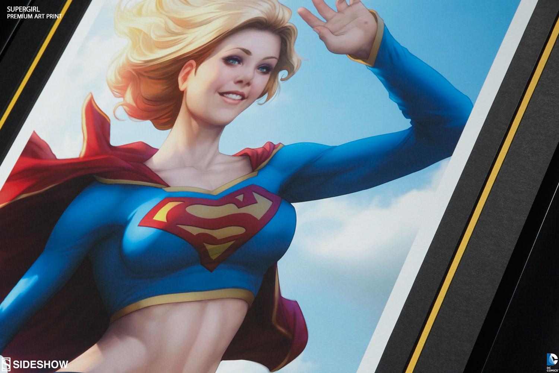 Dc Comics Supergirl Premium Art Print 500277 03 Dc Comics News