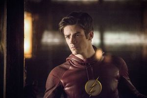 """The Flash -- """"Escape From Earth-2"""" -- Image FLA214a_0089b -- Pictured: Grant Gustin as The Flash -- Photo: Diyah Pera/The CW -- © 2016 The CW Network, LLC. All rights reserved."""