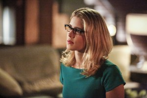 "Arrow -- ""Sins of the Father"" -- Image ARR413a_0108b.jpg -- Pictured: Emily Bett Rickards as Felicity Smoak -- Photo: Bettina Strauss/ The CW -- © 2016 The CW Network, LLC. All Rights Reserved."
