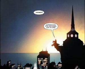 batman 51 watching the city