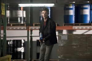 """The Flash -- """"Back to Normal"""" -- Image: FLA219a_0076b.jpg -- Pictured: Grant Gustin as Barry Allen -- Photo: Katie Yu/The CW -- © 2016 The CW Network, LLC. All rights reserved."""