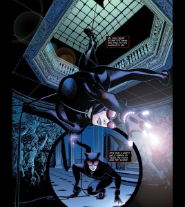 Catwoman 51 One legged Descent
