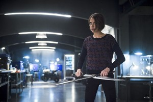 """Arrow -- """"Eleven-Fifty-Nine"""" -- Image AR418b_0258b.jpg -- Pictured: Willa Holland as Thea Queen -- Photo: Diyah Pera/The CW -- © 2016 The CW Network, LLC. All Rights Reserved."""