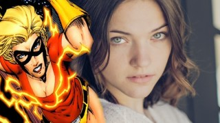 Violett Beane Interview dc comics news flash exclusive