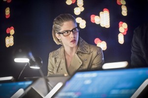 "Arrow -- ""Monument Point"" -- Image AR421b_0047b.jpg -- Pictured: Emily Bett Rickards as Felicity Smoak -- Photo: Dean Buscher/The CW -- © 2016 The CW Network, LLC. All Rights Reserved."