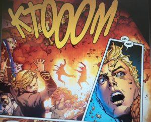 Aquaman 1 Explosion
