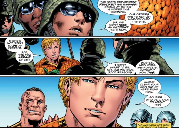 Aquaman 3 Arthur Intervenes