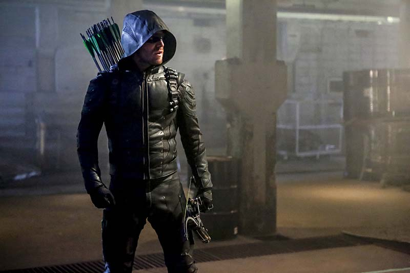 """Arrow -- """"Legacy"""" -- Image AR501c_0161b --- Pictured: Stephen Amell as Green Arrow -- Photo: Bettina Strauss/The CW -- Ì?å© 2016 The CW Network, LLC. All Rights Reserved."""