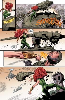 Aquaman 5 mera and a tank