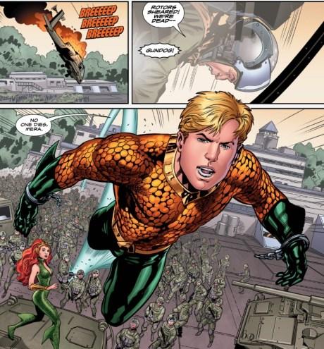 Aquaman 5 a as superman