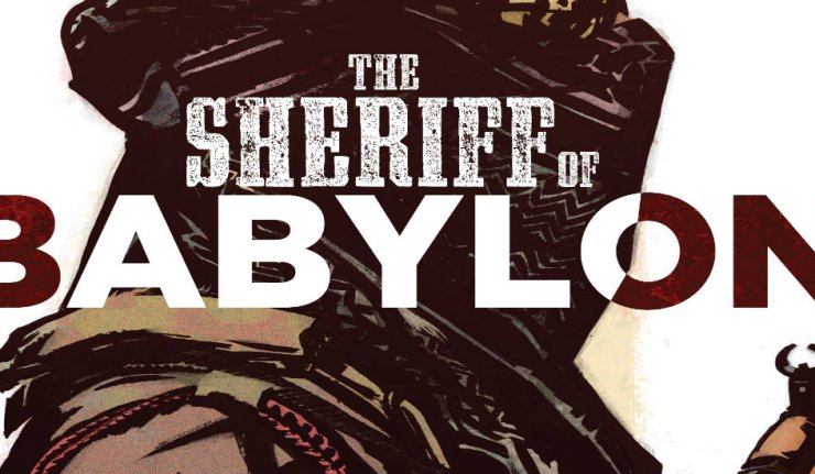 Sheriff of Babylon 10 cover