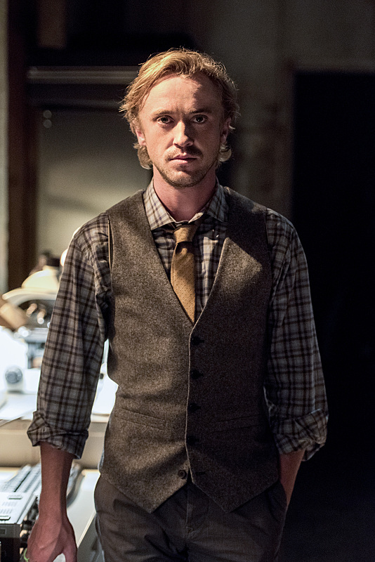 """The Flash -- """"Paradox"""" -- Image: FLA302b_0258b.jpg -- Pictured: Tom Felton as Julian Albert -- Photo: Dean Buscher/The CW -- © 2016 The CW Network, LLC. All rights reserved."""