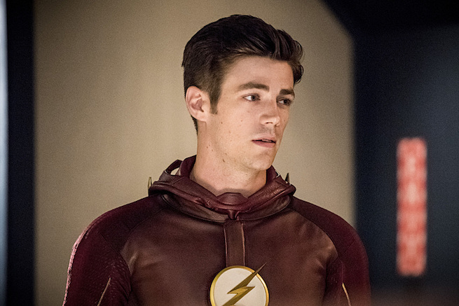 "The Flash -- ""Paradox"" -- Image: FLA302b_0274b.jpg -- Pictured: Grant Gustin as Barry Allen -- Photo: Dean Buscher/The CW -- © 2016 The CW Network, LLC. All rights reserved."