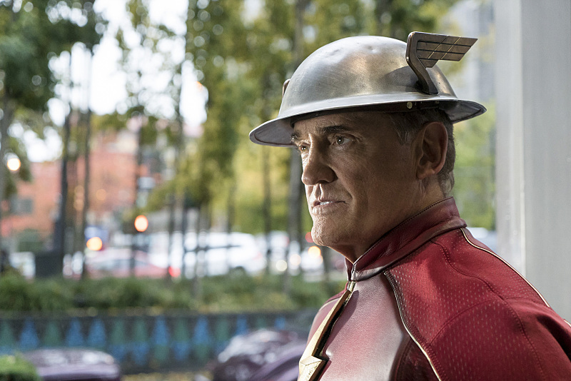 "The Flash -- ""The Present"" -- Image FLA309a_0286b.jpg -- Pictured: John Wesley Shipp as Jay Garrick -- Photo: Katie Yu/The CW -- © 2016 The CW Network, LLC. All rights reserved."