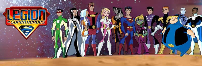 Justice League Unlimited Oc