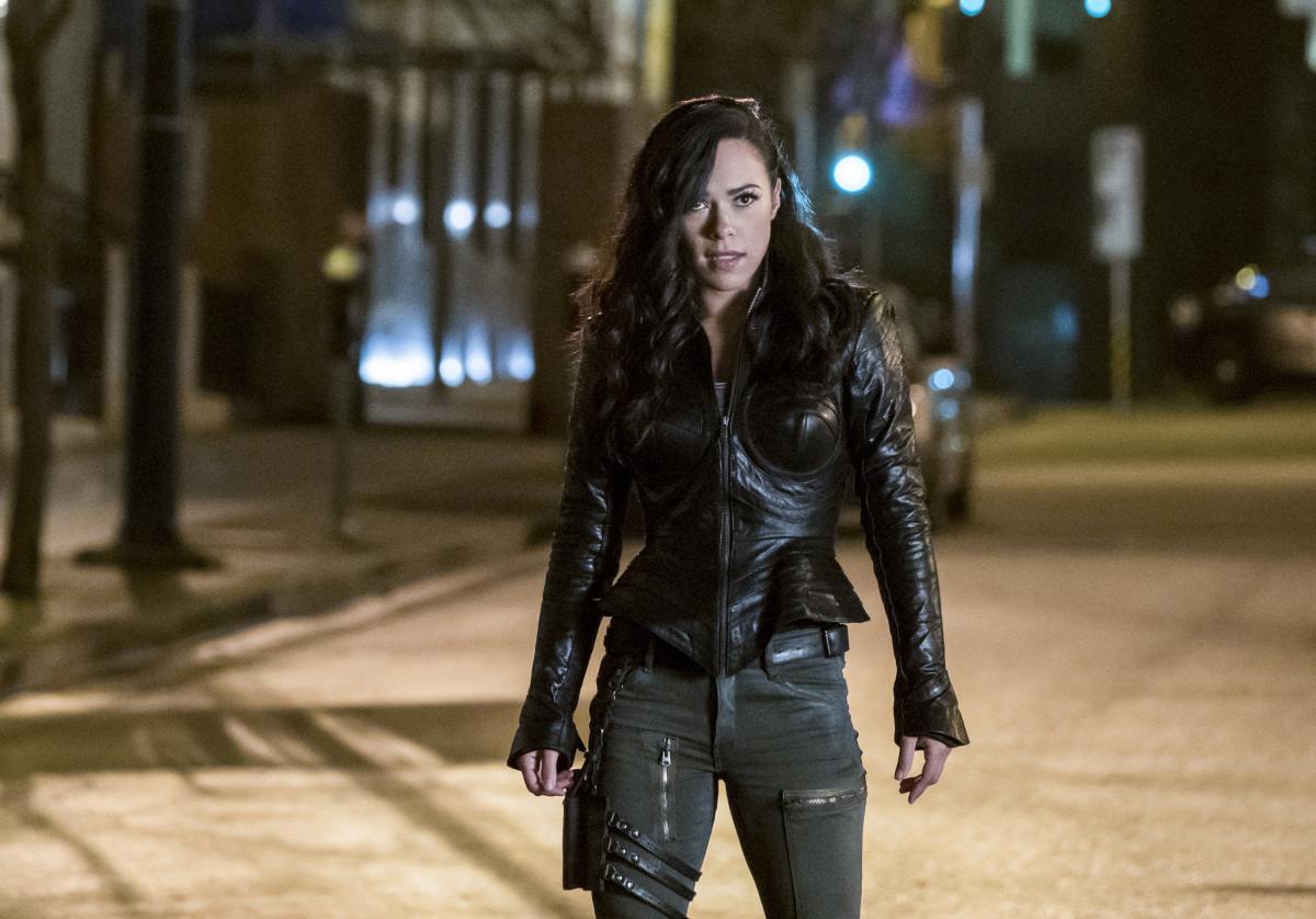 "The Flash -- ""Attack on Central City"" -- FLA314a_0205b.jpg -- Pictured:  Jessica Camacho as Gypsy -- Photo: Katie Yu/The CW -- © 2017 The CW Network, LLC. All rights reserved."